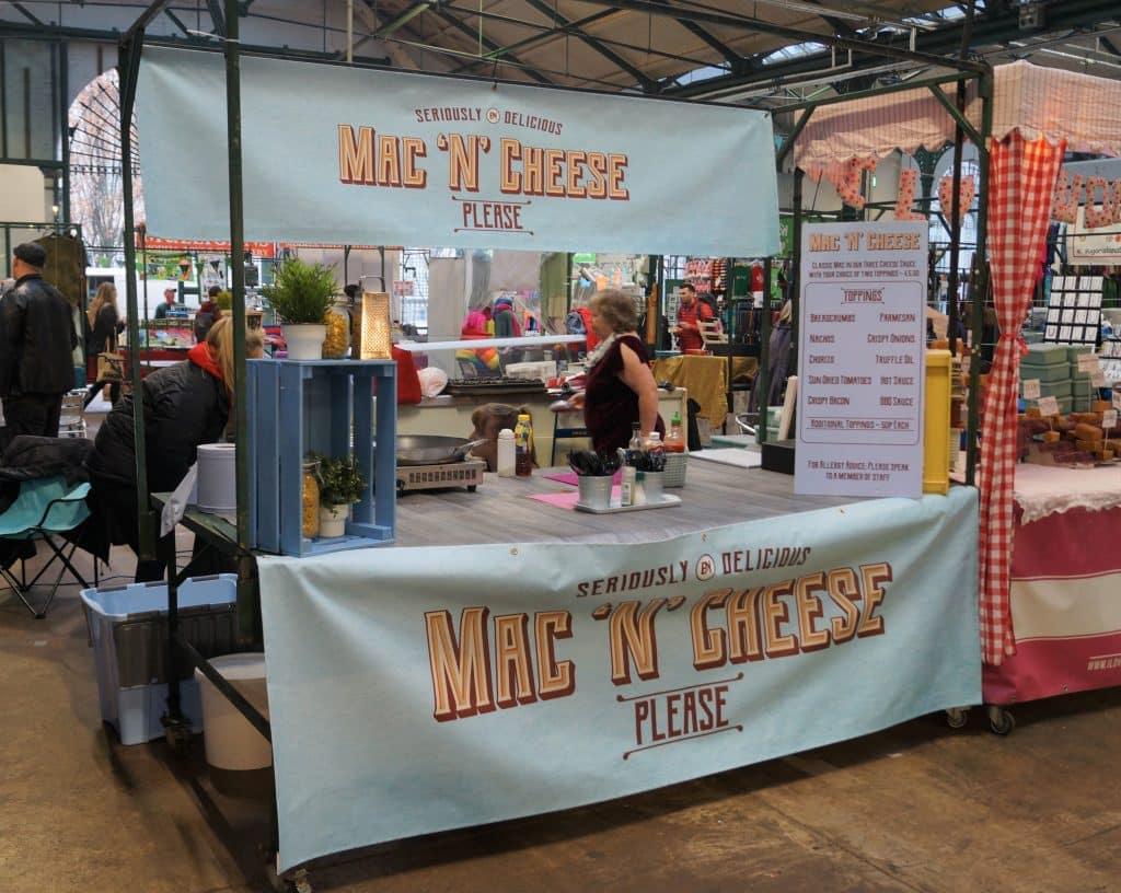 Mac 'n' Cheese at St. George's Market in Belfast