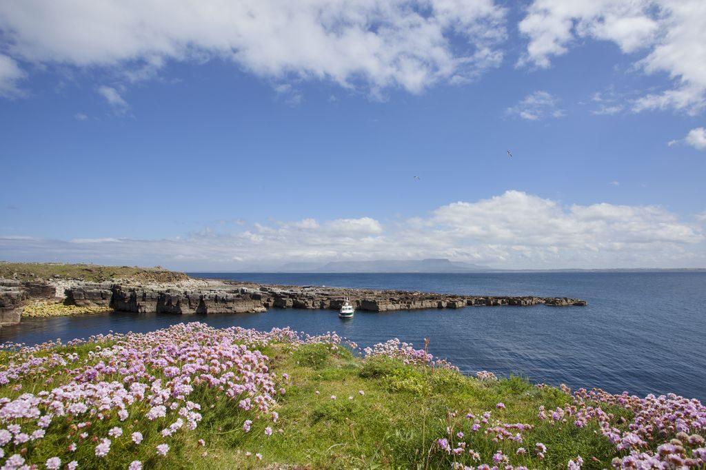 Off the coast of Sligo lies the island of Inishmurray