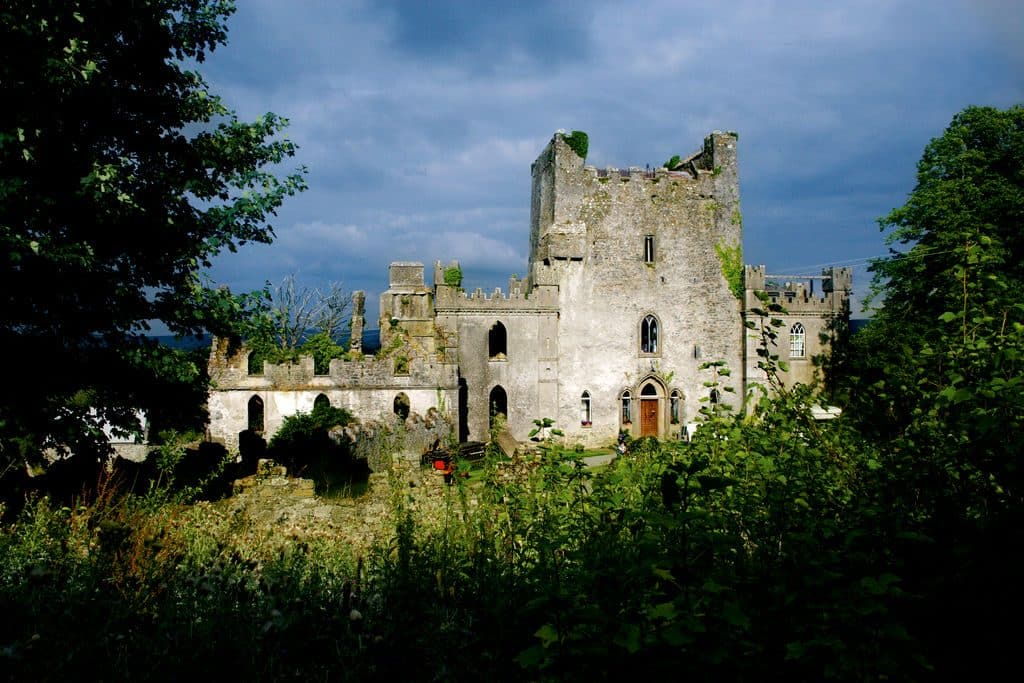 Leap Castle is one of the most widely regarded haunted places in Ireland thanks to the bloodshed witnessed on its land.