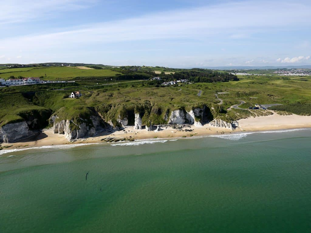 Portrush's lush beaches are a must-see