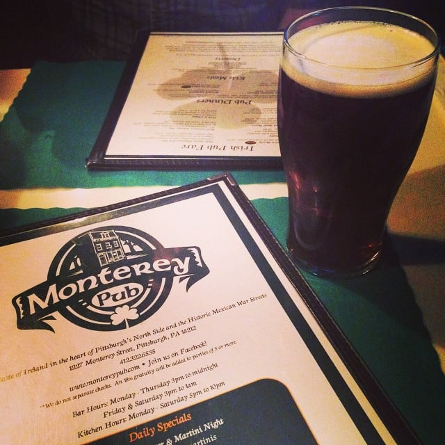 Montery Pub in Pennsylvania is one of the top pubs in the United States that Irish expats will love