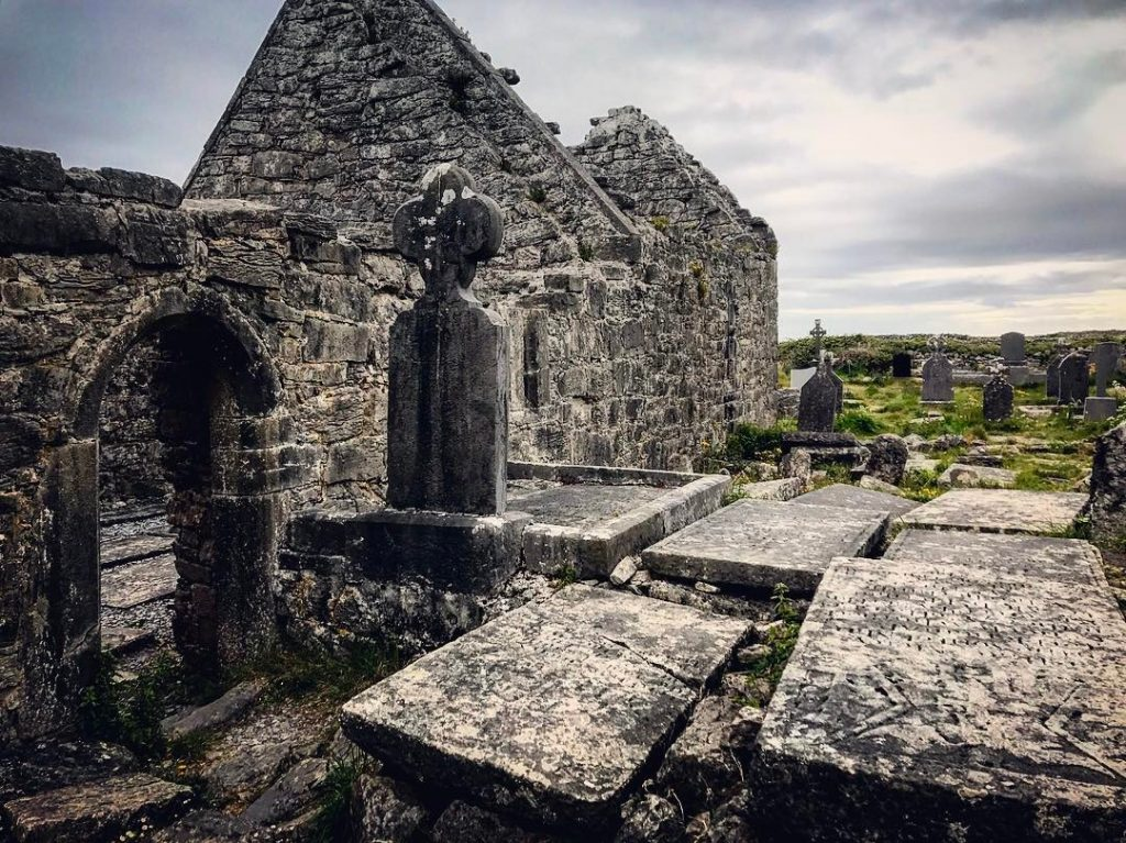 Na Seacht dTeampaill is one of the top 10 things to do and see on the Aran Islands