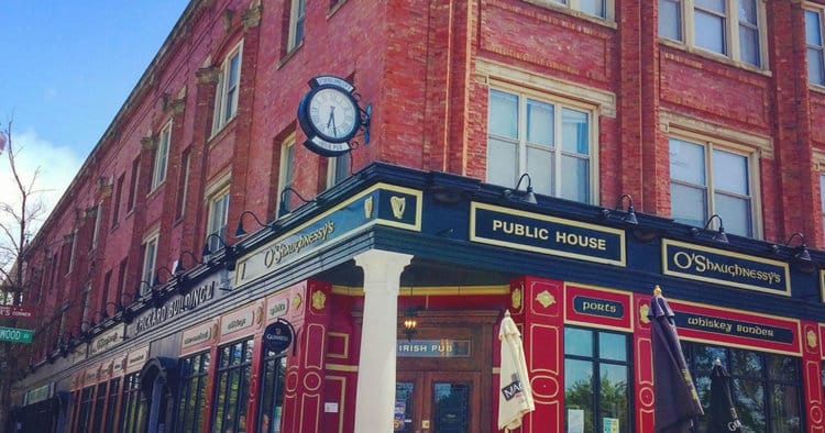 O'Shaughnessy's Public House is one of the 10 best Irish pubs in Chicago