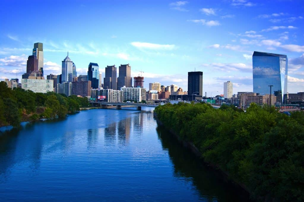 Philadelphia has a large concentration of expats from Ireland