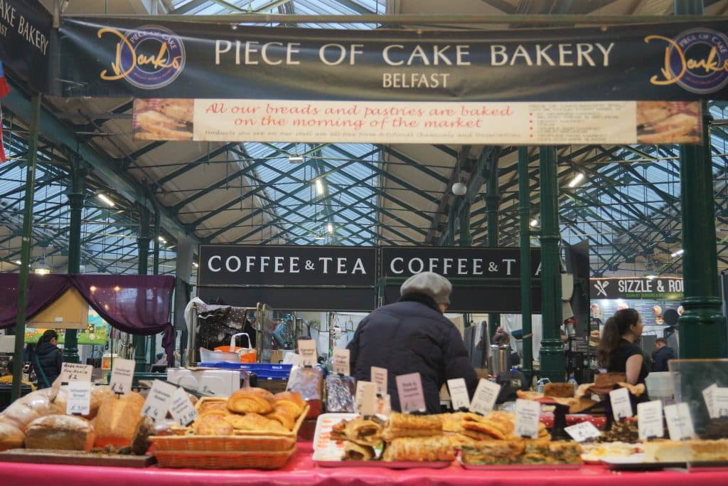 Piece of Cake Bakery is one of 10 food stalls you have to try at St. George's Market in Belfast
