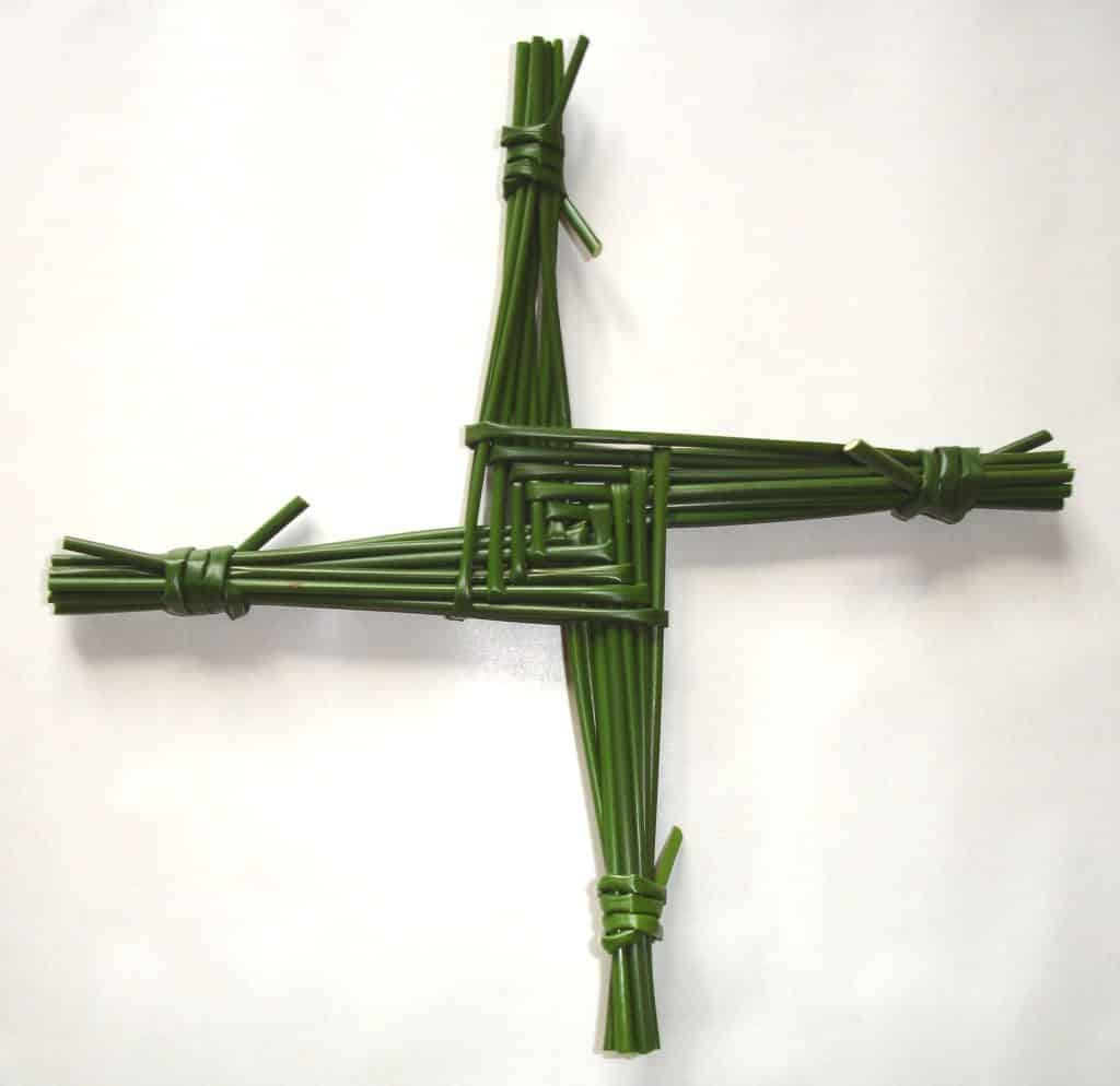 Brigid's cross is a prominent symbol from Ireland