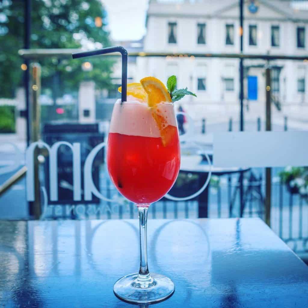 Sam's Bar is one of the 10 poshest bars in Dublin