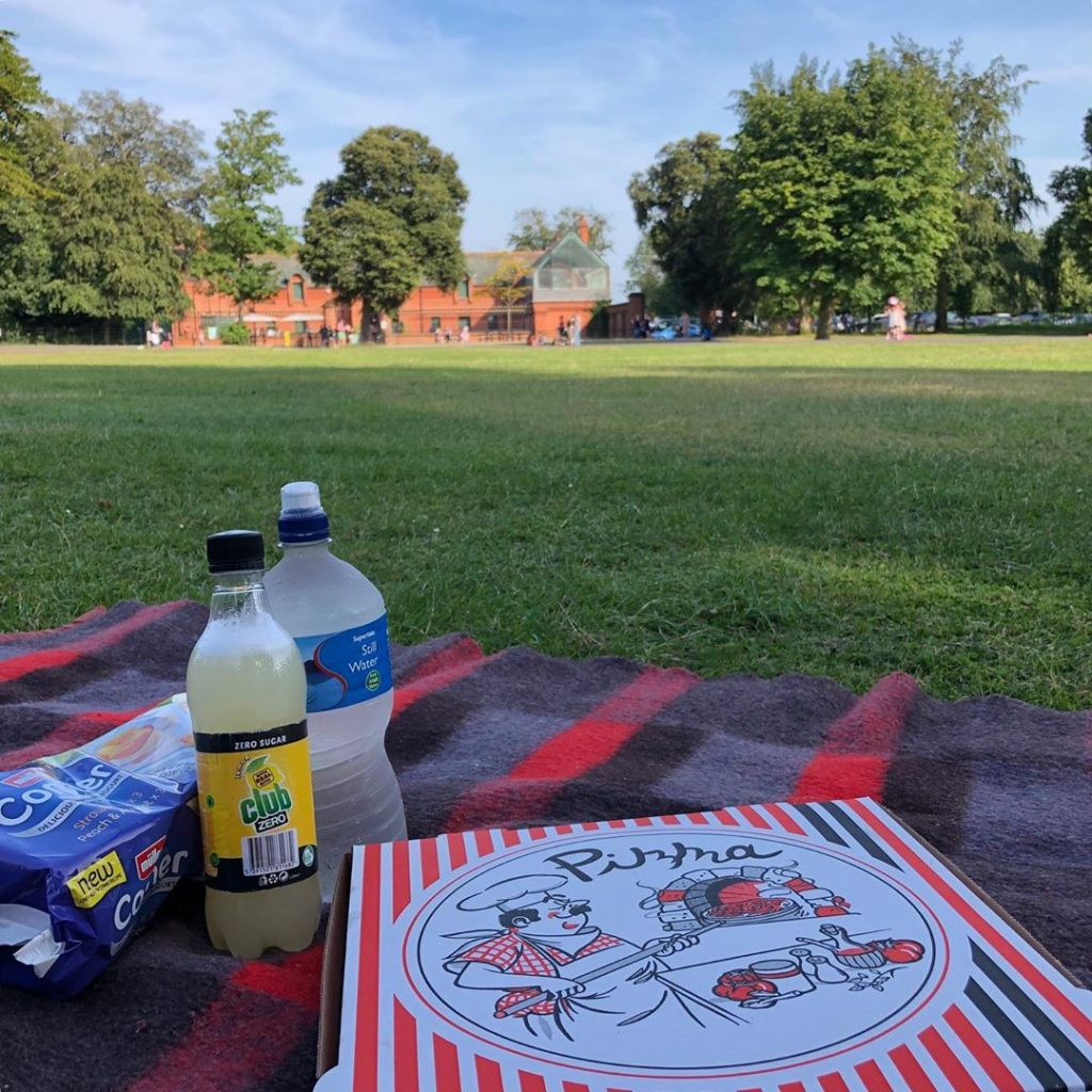 St. Anne's Park in Ireland's capital is the perfect place for a romantic picnic