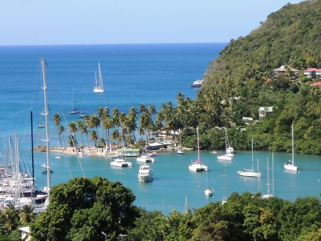 St. Lucia is one of 10 amazing countries you can visit visa-free with an Irish passport