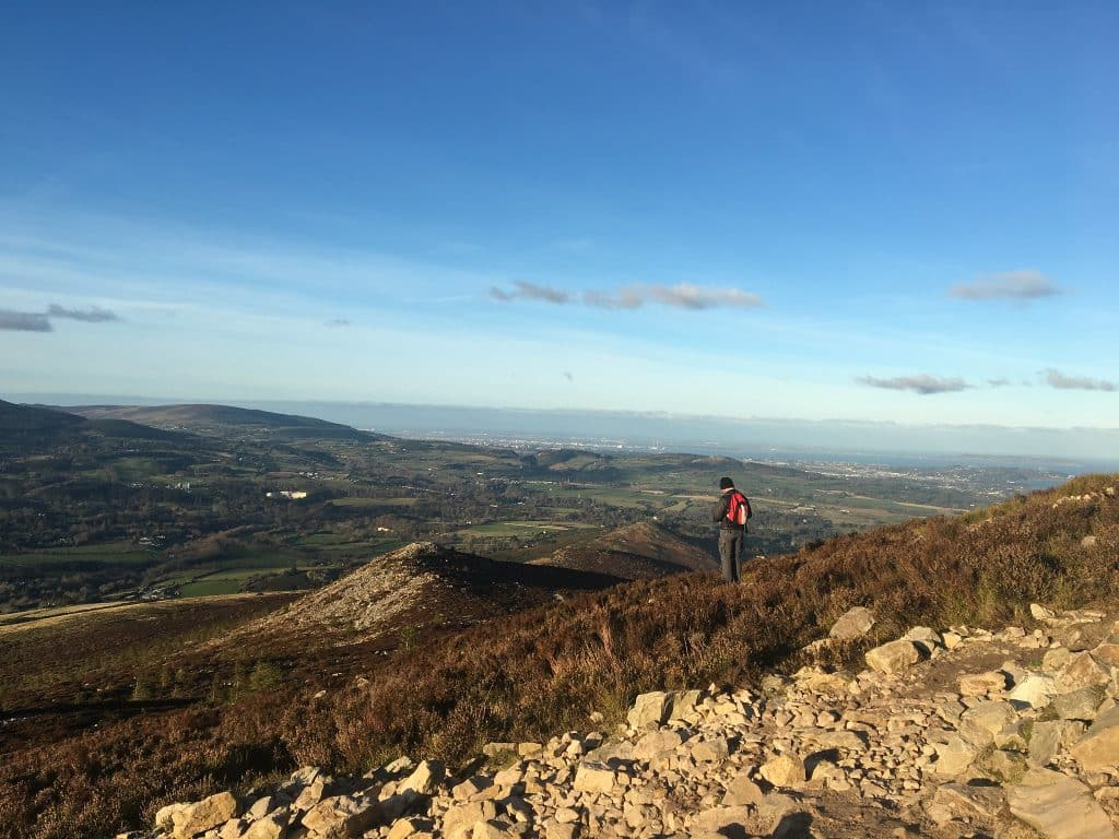The Sugar Loaf Trail is one of the top 5 hikes and hill walks within an hour of Dublin
