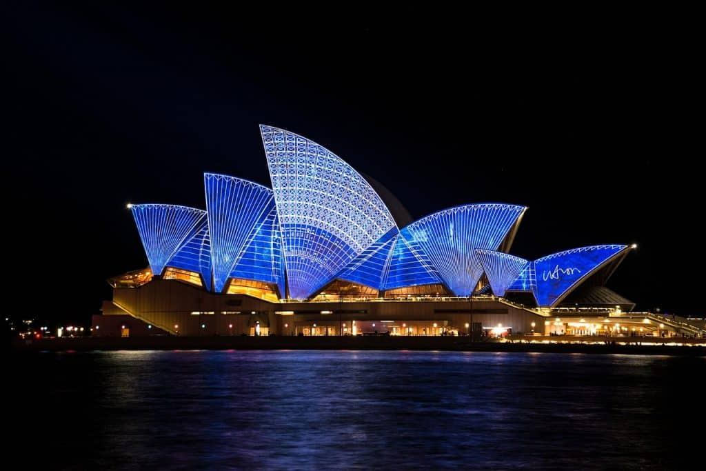 Sydney, Australia, has a large concentration of Irish expats