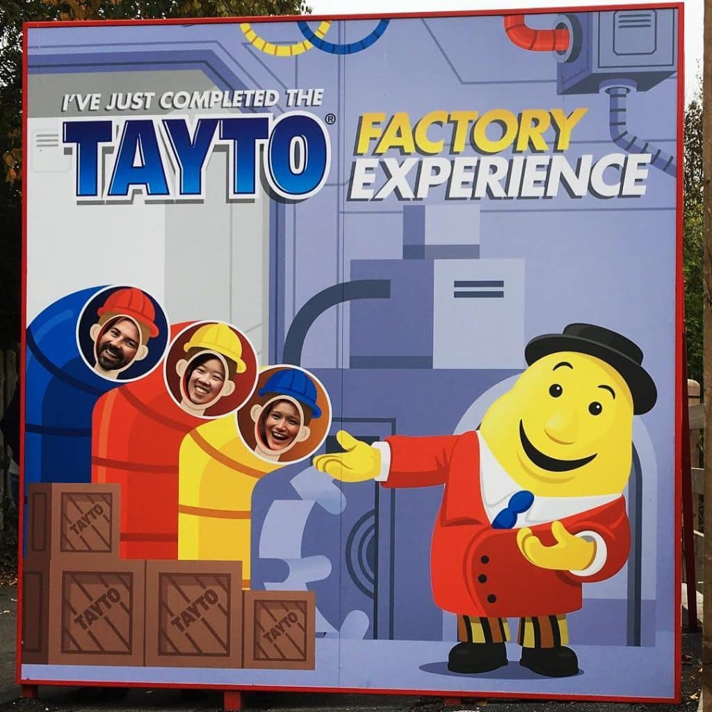 The Tayto Factory tour is fascinating