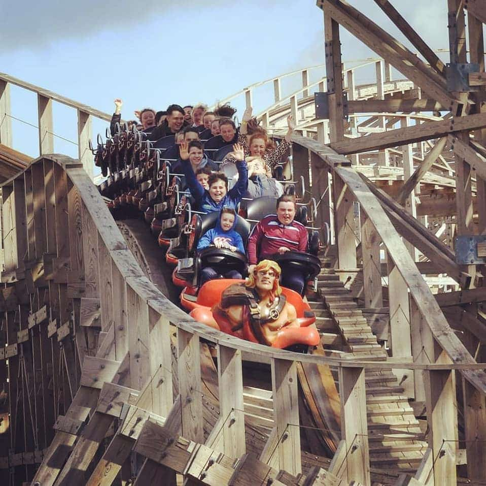 Tayto Park tops our list of  things to do in Ireland with kids.