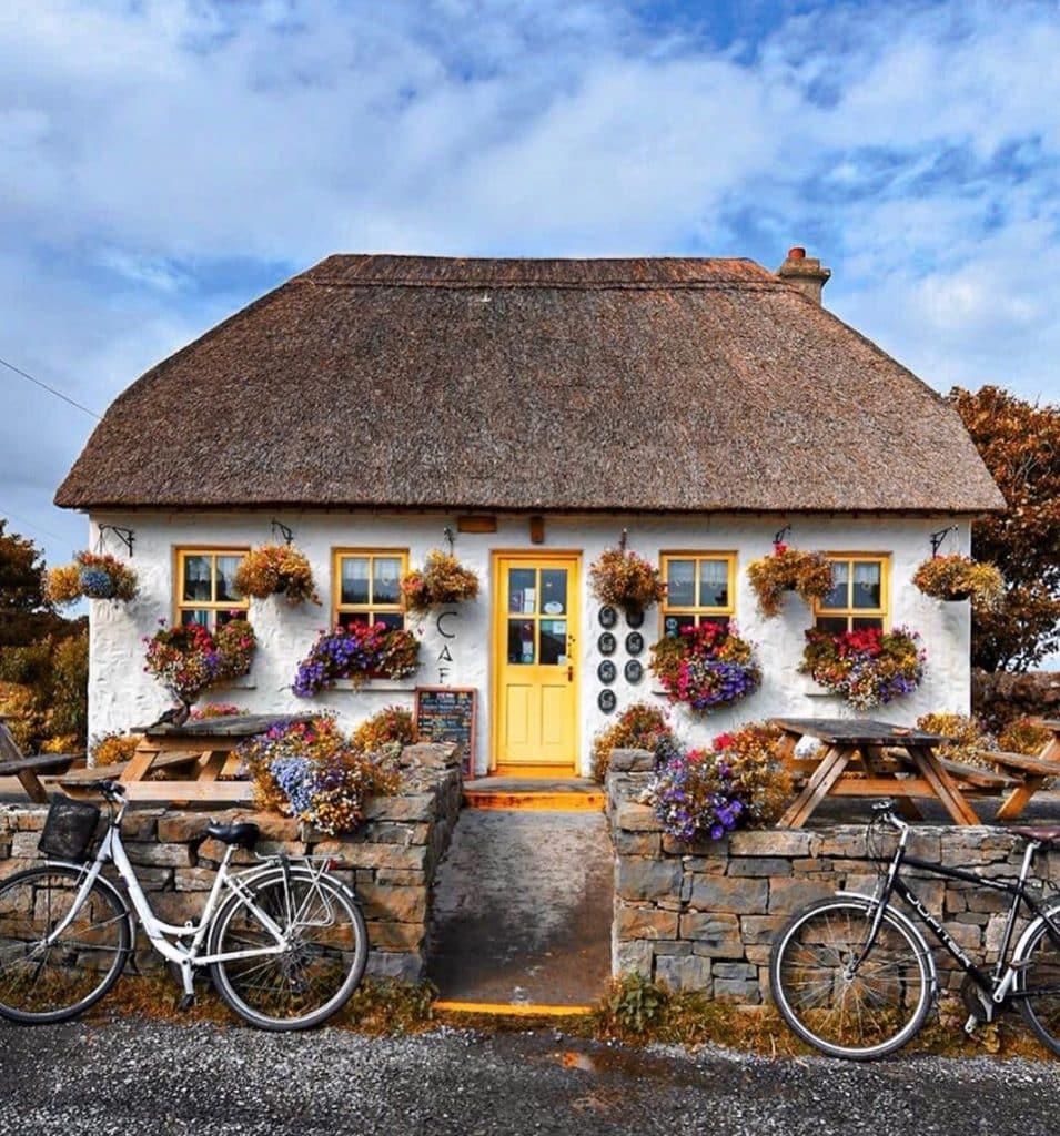 Teach Nan Phaidi is a quaint tea room on the Aran Islands in Ireland
