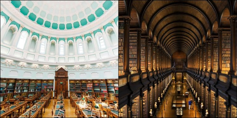 The 6 most beautiful libraries in Ireland