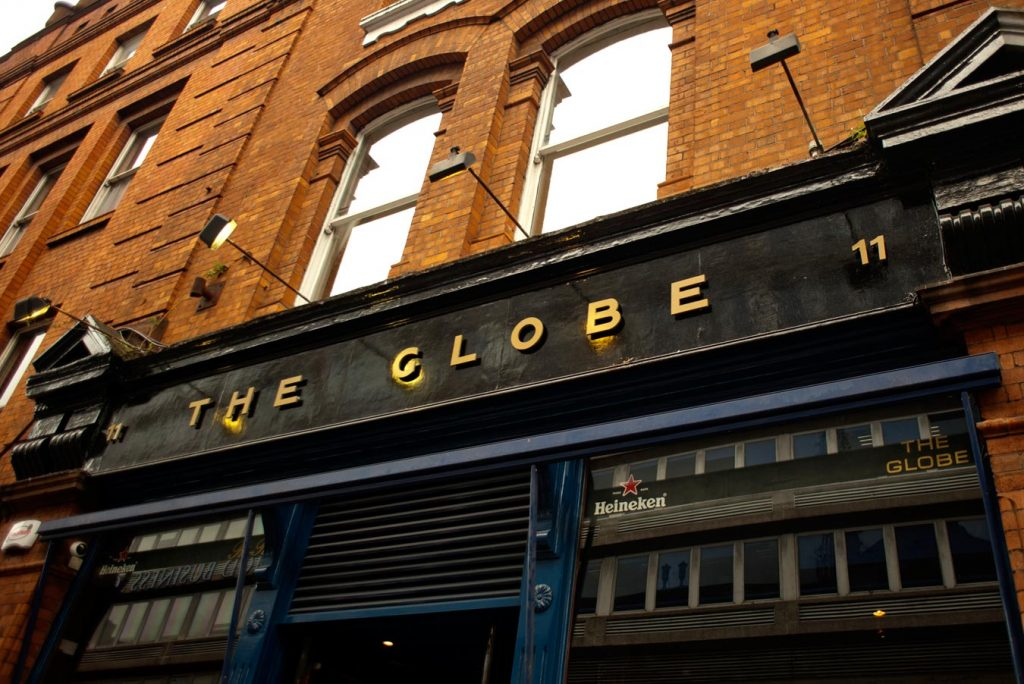 The Globe is a great place to let loose in Dublin