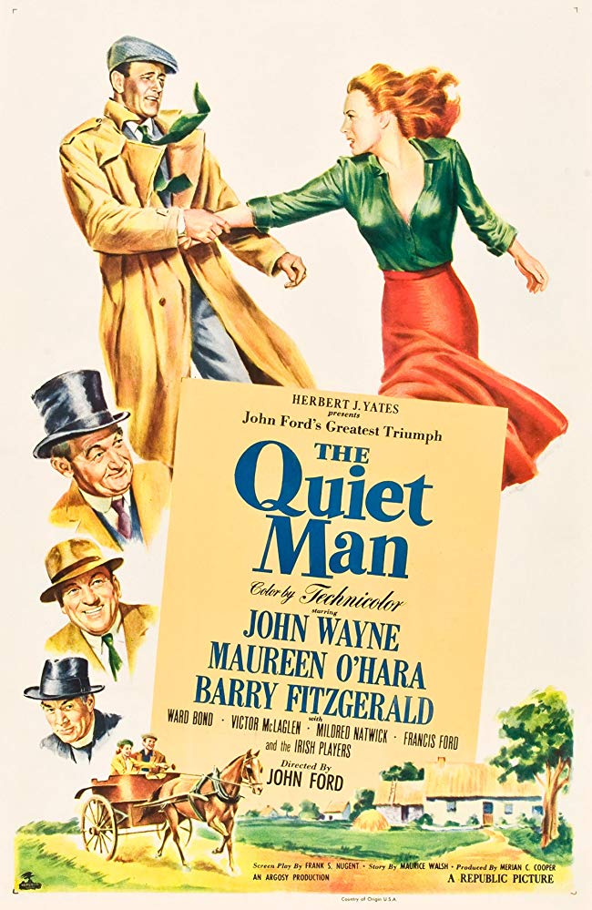 Truly The Quiet Man is one of the top Irish movies which will make you fall in love with Ireland.