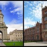 The top 5 universities in Ireland based on global ranking