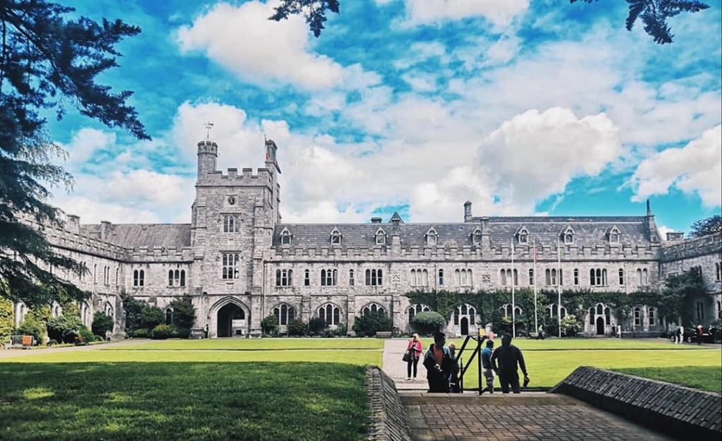 University College Cork is one of the top 5 universities in Ireland based on global ranking