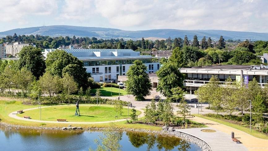 University College Dublin is one of the top 5 universities in Ireland