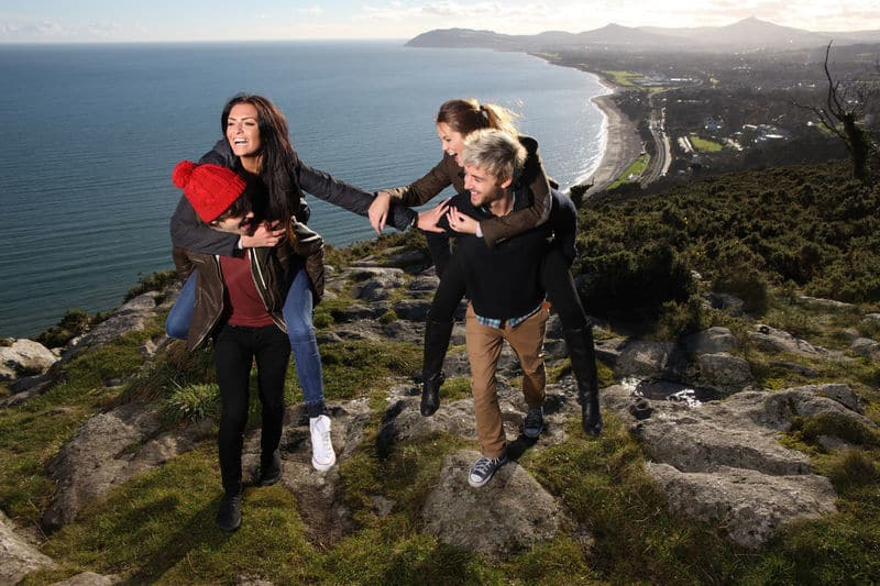 Killiney Hill Park is one of the top 5 hikes and hill walks within an hour of Dublin