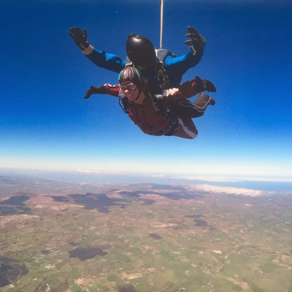 Wild Geese skydiving in County Derry