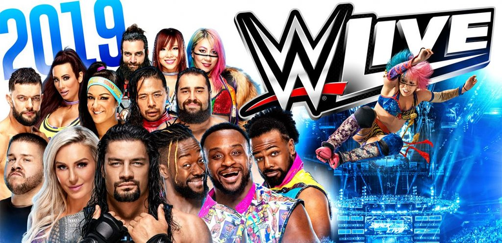 WWE Live is one of 10 unmissable events in Ireland in November 2019
