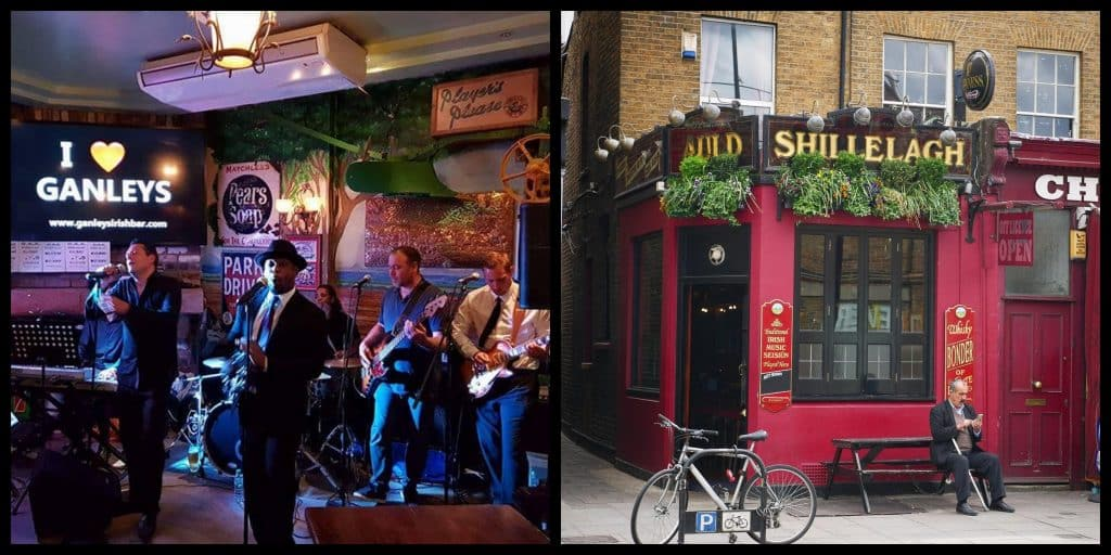 The 10 best Irish pubs in England