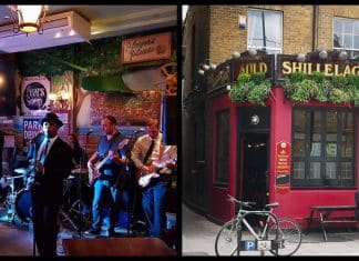 The 10 best Irish pubs in England