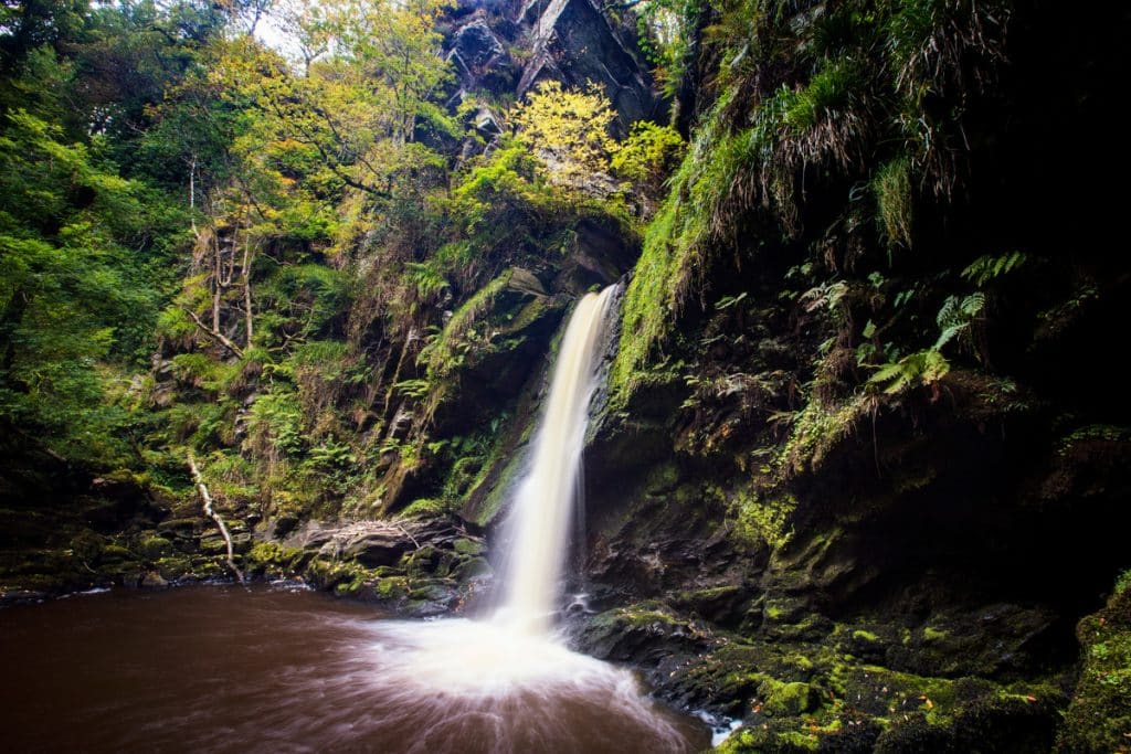 Ness Country Park has one of the best waterfalls in Northern Ireland
