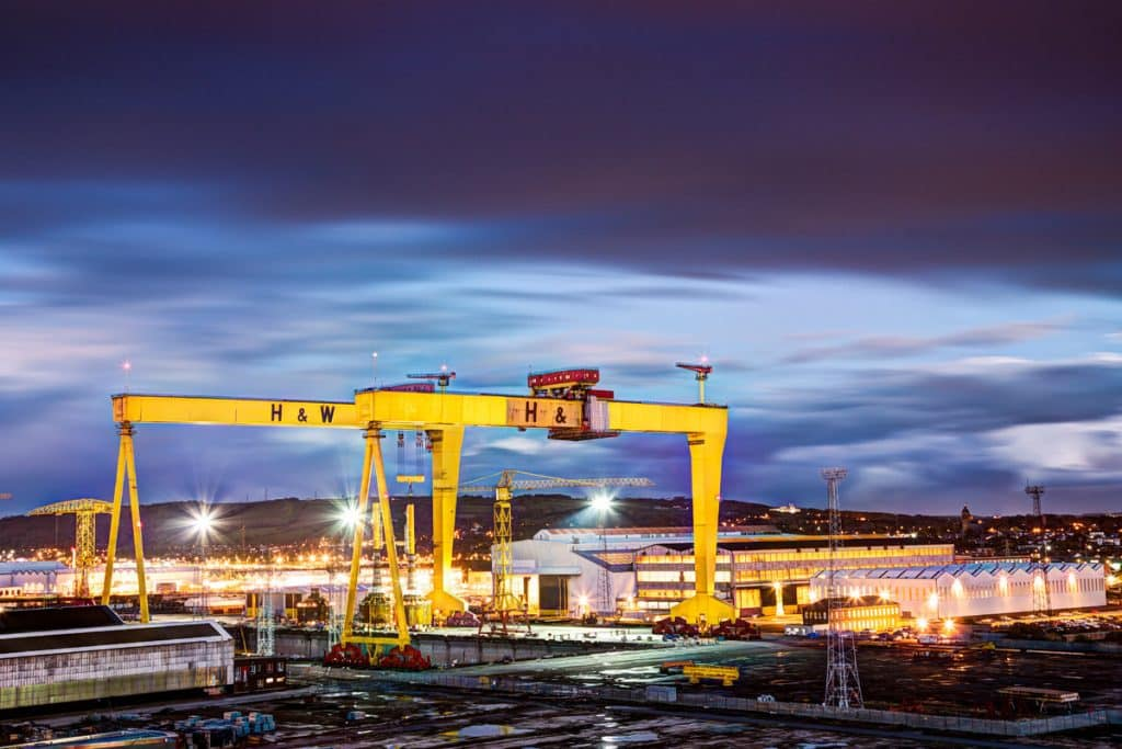 One of the 10 things you probably didn't know about Belfast is that Samson and Goliath are the largest free-standing cranes in the world