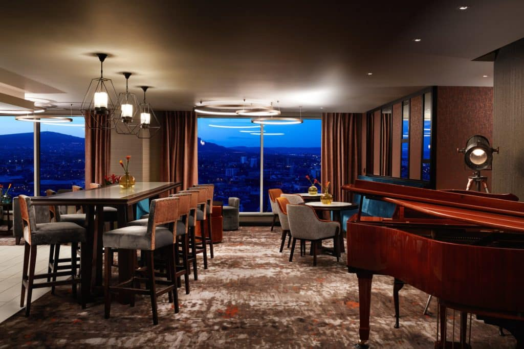 Grand Central Hotel offers amazing views of the city