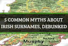 5 common myths about Irish surnames