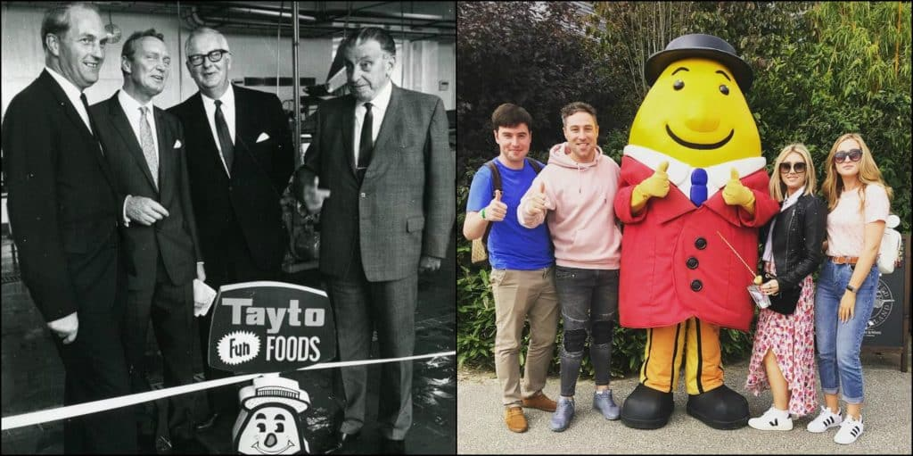 A history of Tayto: an Irish mascot