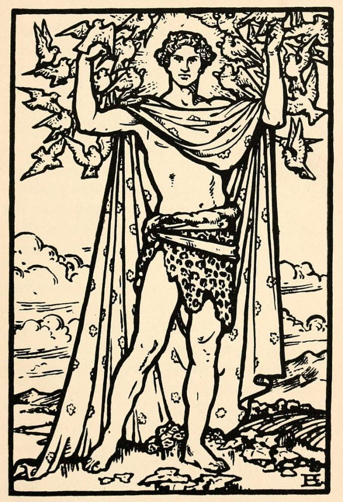 Aengus is a notable figure from Irish myths and legends