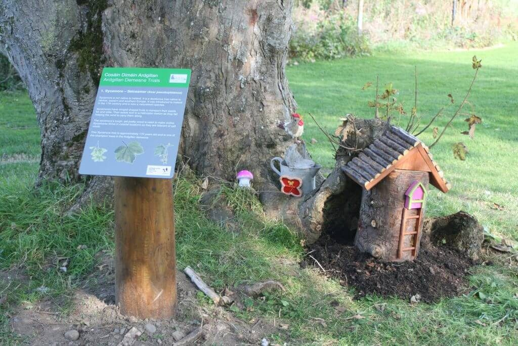 Argillan Castle has one of the top five adorable fairy villages in Ireland