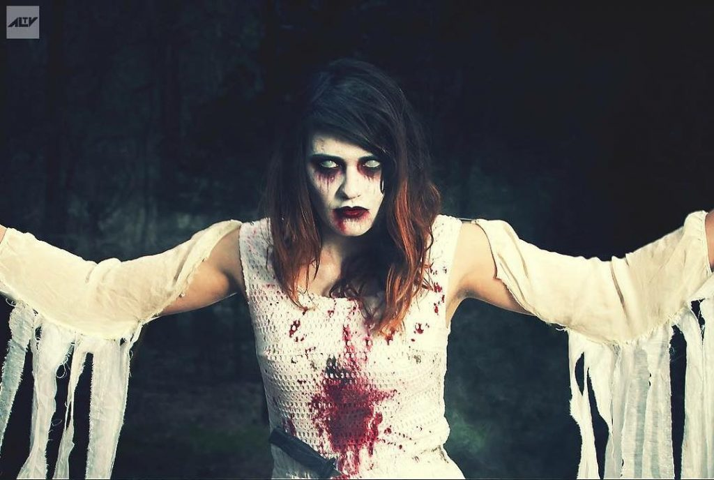 A banshee is one of our top 10 quintessentially Irish Halloween costume ideas
