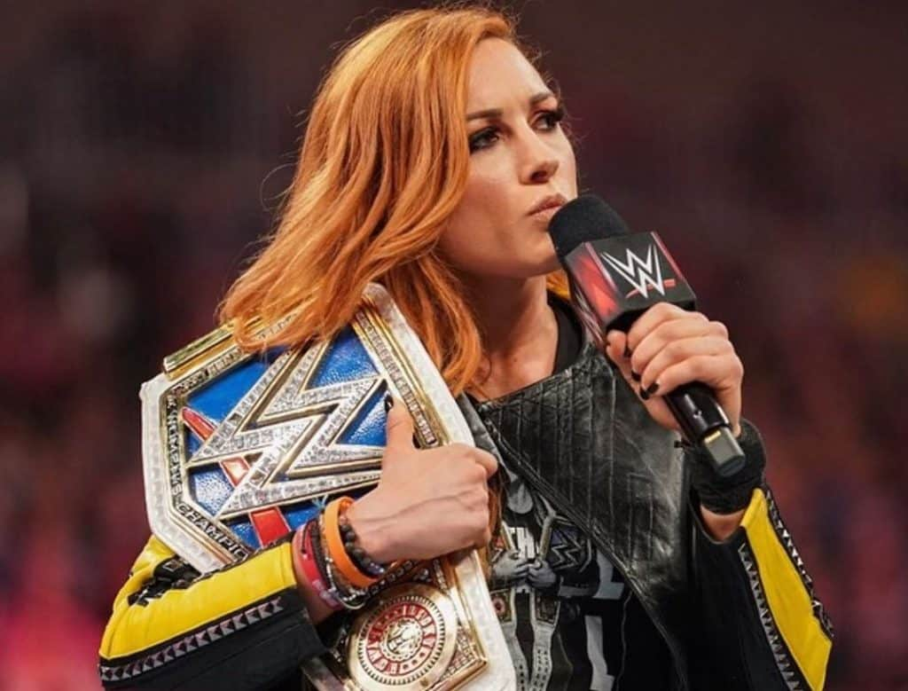 Becky Lynch has wrestled around the globe