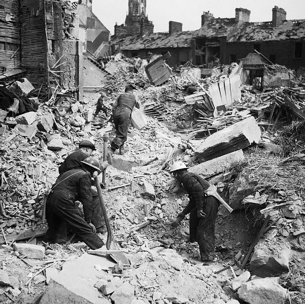 The Belfast Blitz occurred in 1941