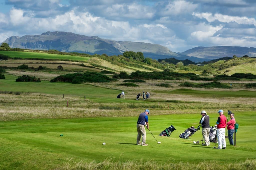 The County Sligo Golf Club is one of the top 10 scenic golf courses in Ireland