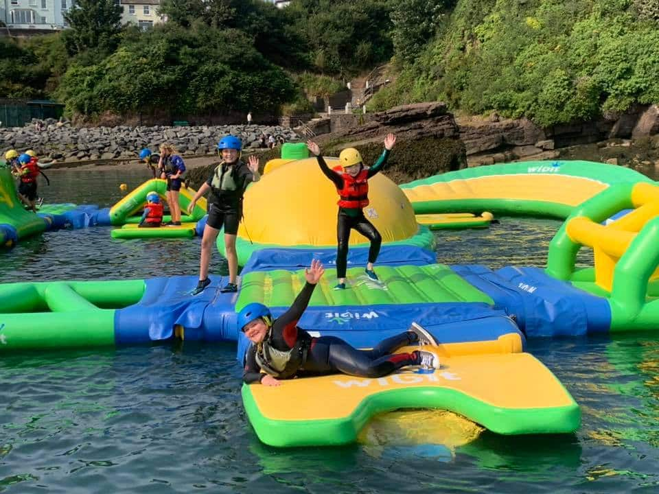 Dunmore Adventure in County Waterford is great for thrill seekers