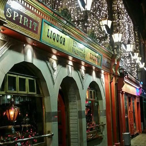 Edward J Valentines Bar offers authentic Irish pub vibes