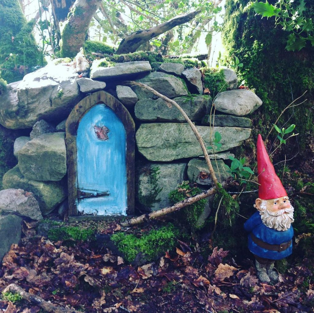 The Enchanted Forest fairy garden at the Slieve Aughty Centre