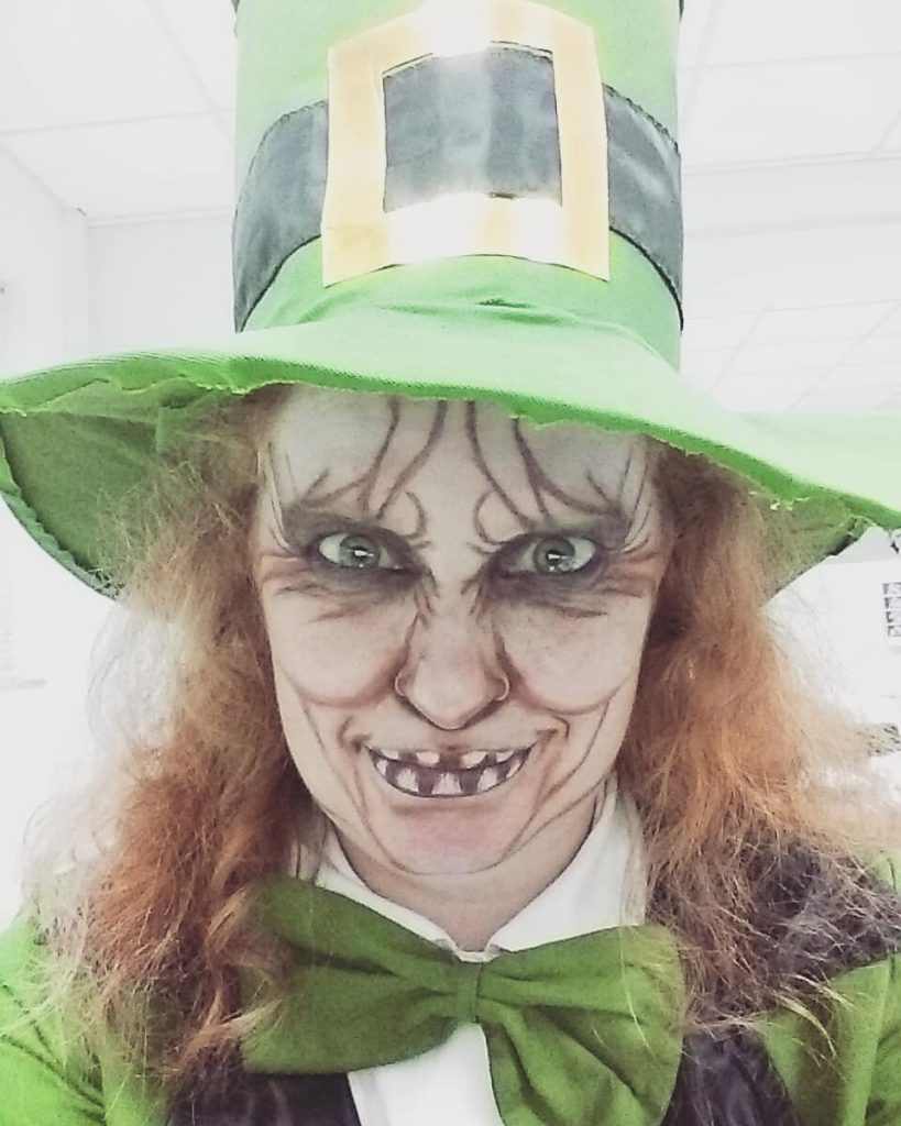 An evil leprechaun is one of our top 10 quintessentially Irish Halloween costume ideas