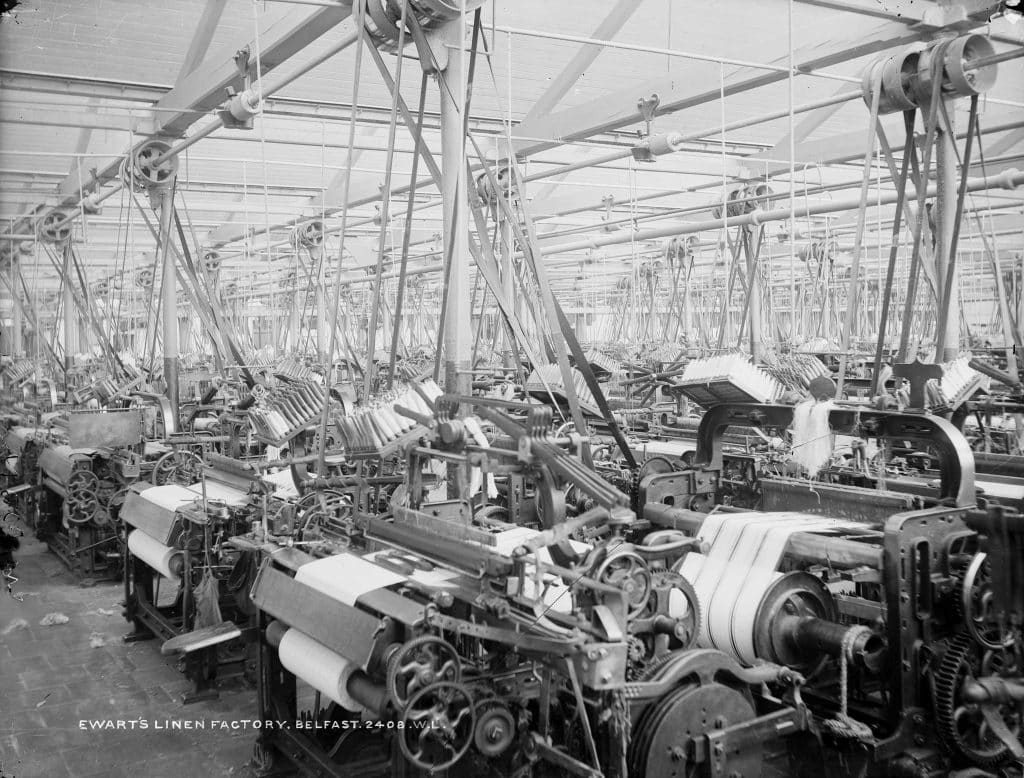 One of the things you probably didn't know about Belfast is that it was once the largest linen producer in the world