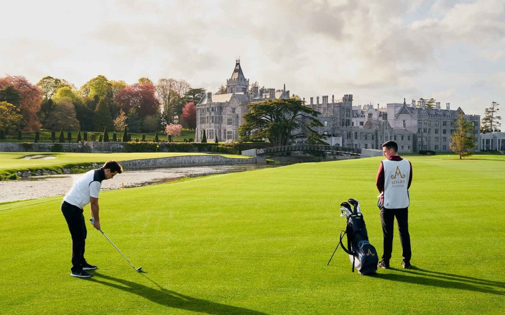 Adare Manor is another of the best things to do in Limerick, there's so much to offer.