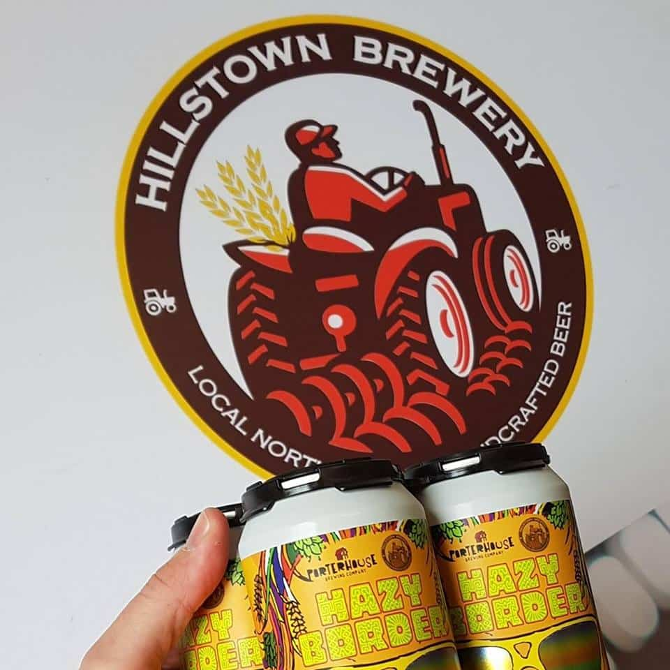 Breweries of Ireland include Hillstown Brewery in Antrim