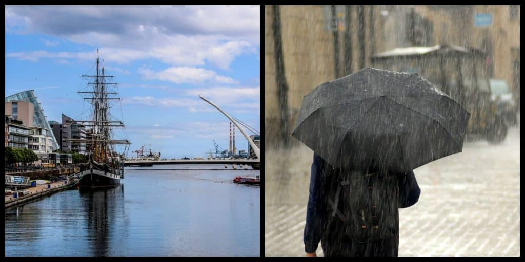 Irish Weather Forecast: Dry Spells followed by rain.