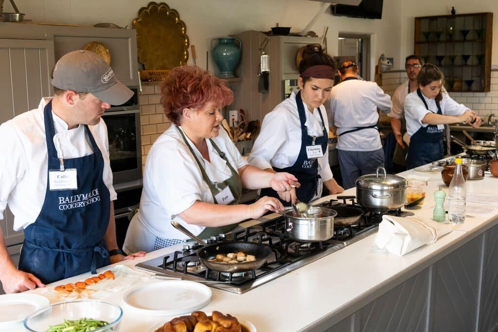 Ballymaloe Cookery School is one of the best in Ireland