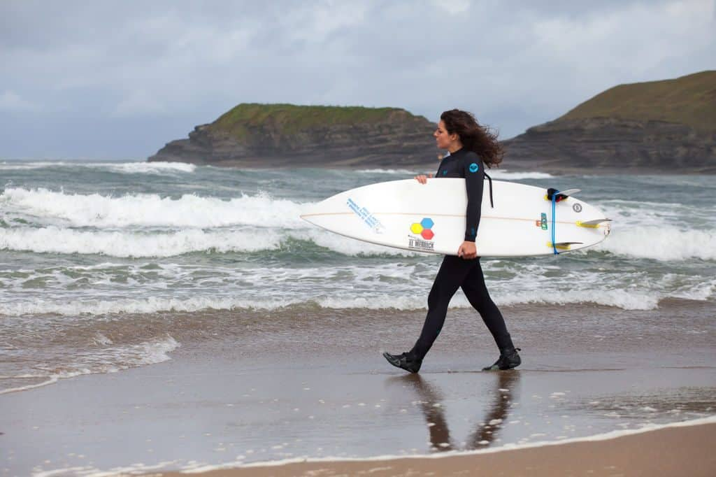 Bundoran is Donegal's surfing haven, one of the best things to do in Donegal.